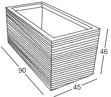 Dimensions Quadra 90 Slide