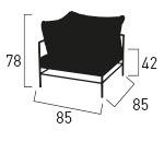 schema rivage module fauteuil rivage