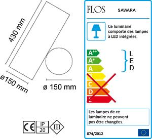Dimensions Sawaru Flos