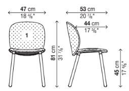 schema Dua Chair 05DUA11
