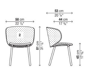 Schema Dua Chair 05DUA12