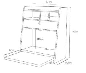schema 60 cm
