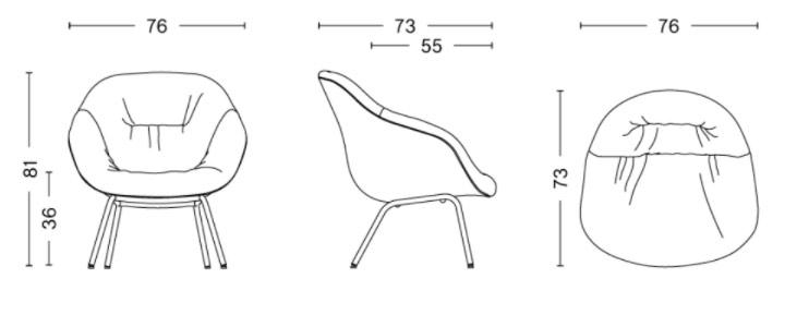echantillon fauteuil AAL 87
