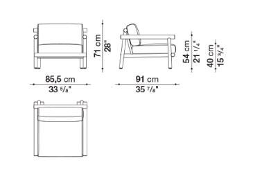 schema ayana fauteuil