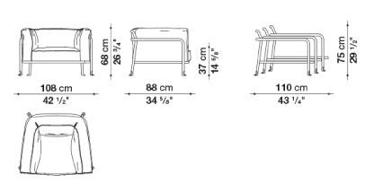 schema borea fauteuil