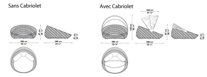 schéma canasta canapé