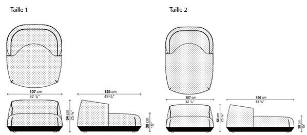 schéma Brioni Fauteuil