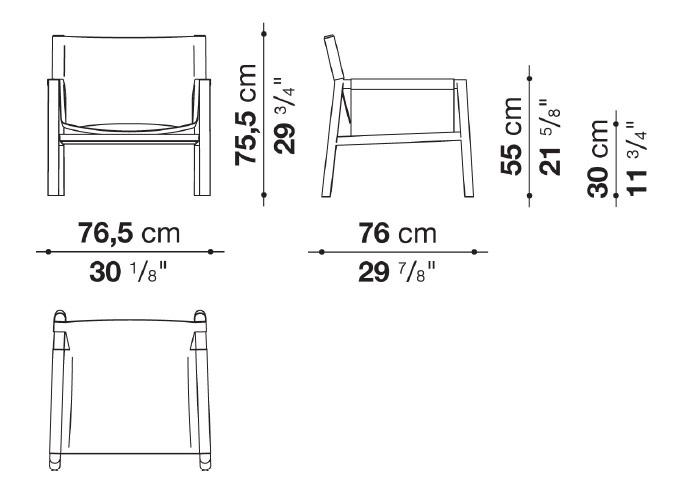 schema fauteuil pablo