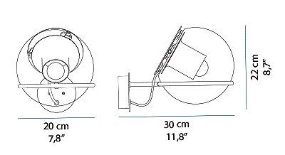 schema globe applique