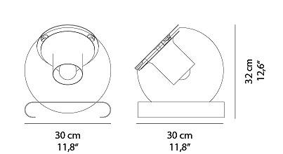 Schema Globe Lampe à Poser