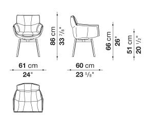 schema husk chaise