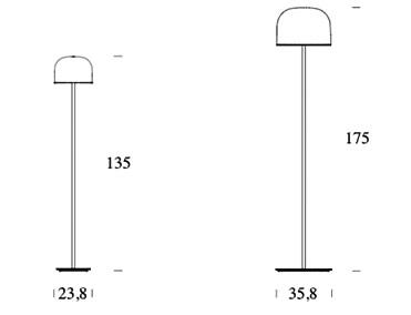 Schema lampadaire