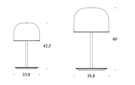 schema table de lampe