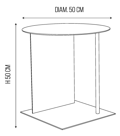 schema place table d'appoint