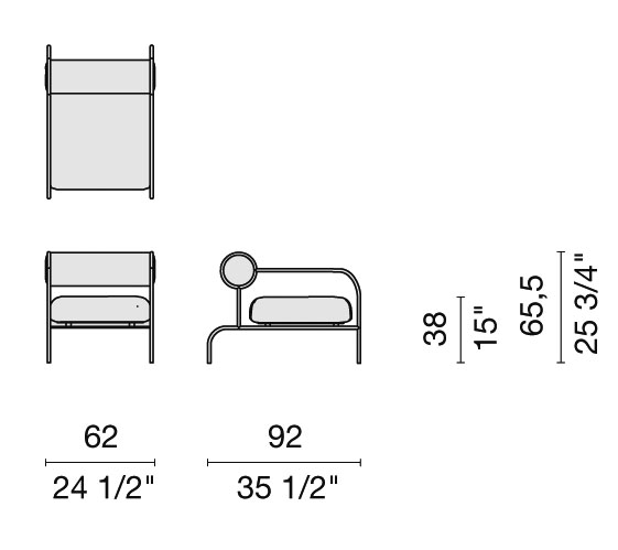 schema sofa with arms