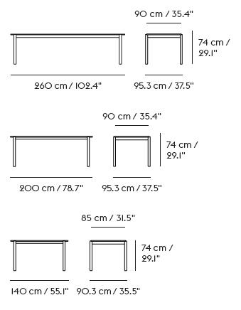 schema table linear bois