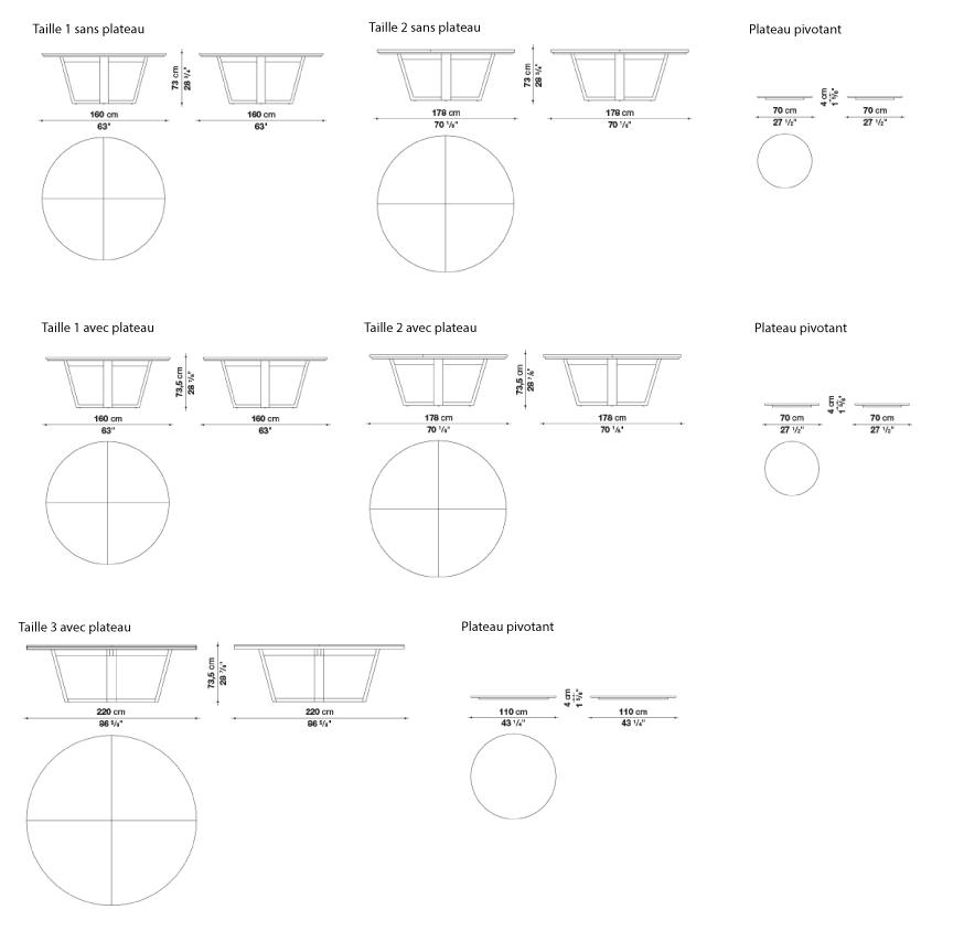 schema xilos table ronde