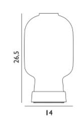 schema amp lampe de table