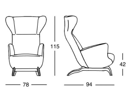 schema fauteuil Ardea