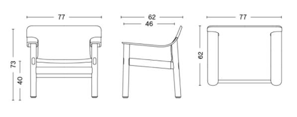schema fauteuil bernard