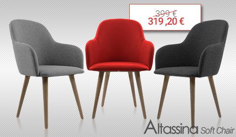 Chaise Soft Altassina - Livraison sous 48h