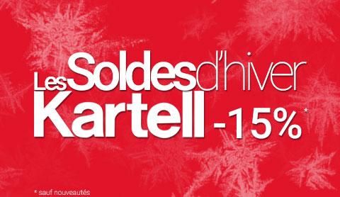 Soldes Kartell -15%