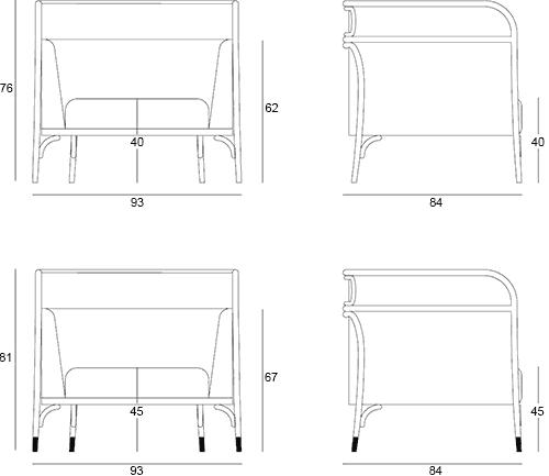 Dimensions Targa Lounge GTV