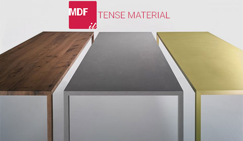 Table Tense Material de MDF Italia