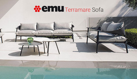 Canapé 2 places Terramare de Emu