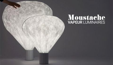 Collection luminaires Vapeur de Moustache