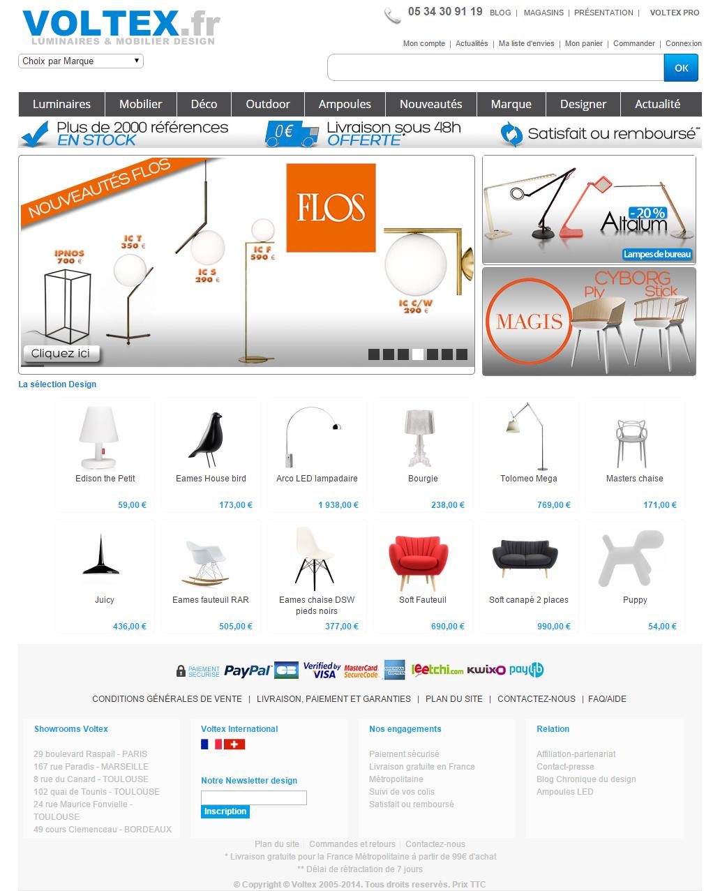 Voltex toulouse liquidation id e inspirante for Logiciel design interieur gratuit