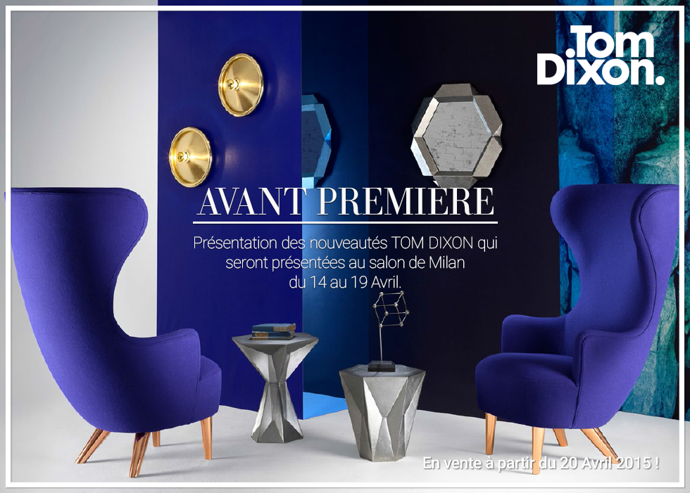 Salon de milan nouveaut s tom dixon for Salon milan design