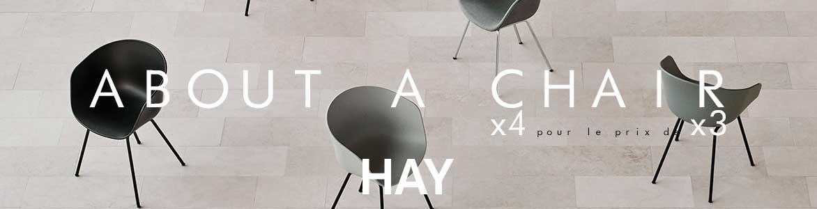 About a Chair Hay | 4 pour le prix de 3