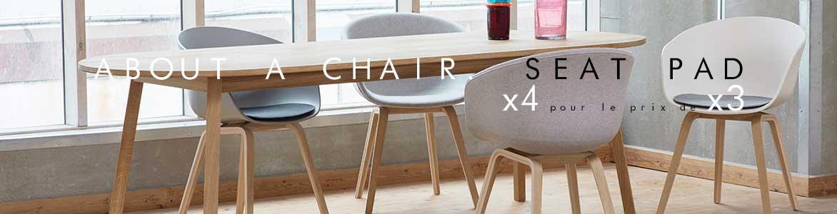 About a Chair Seat Pad Hay | 4 pour le prix de 3