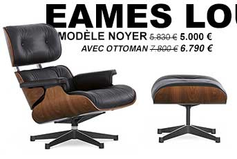 promotion Vitra Eames Lounge Chair noyer