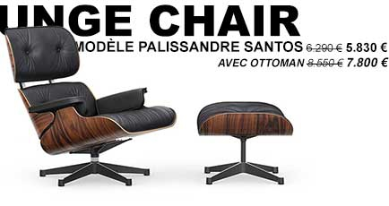 promotion Vitra Eames Lounge Chair Palissandre Santos