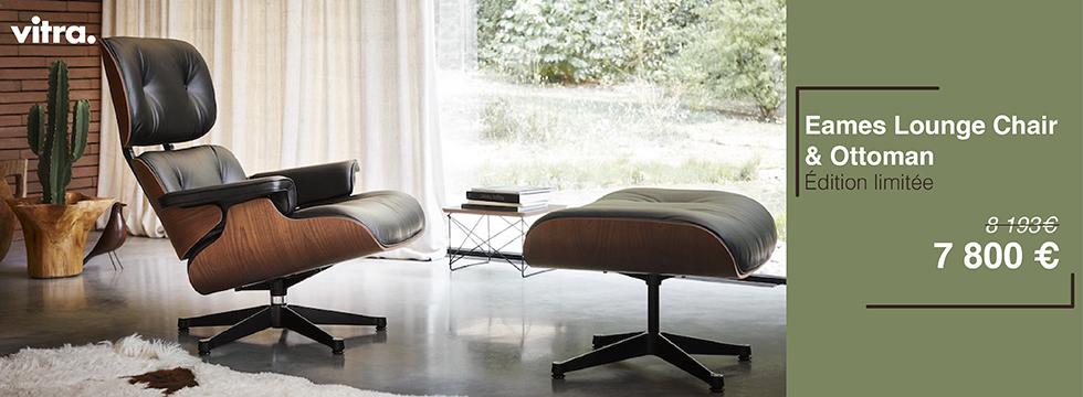 Eames Lounge Chair & Ottoman-acajou-vitra