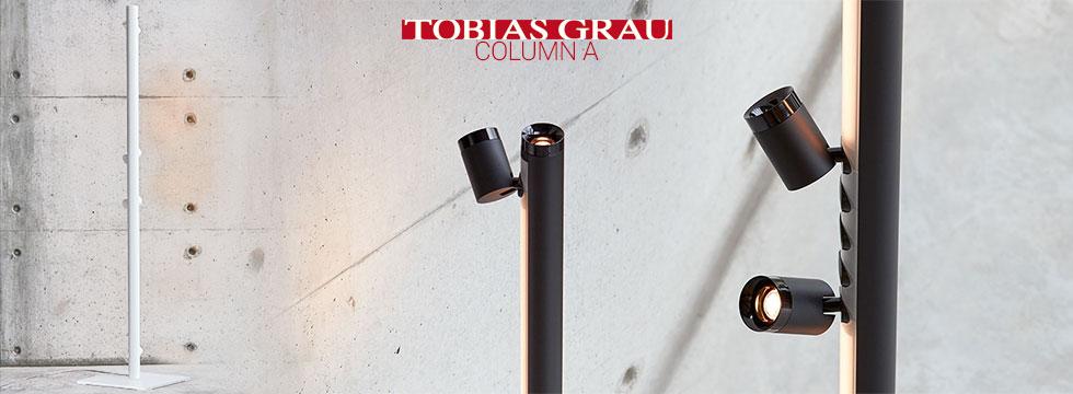 Lampadaire Column A de Tobias Grau