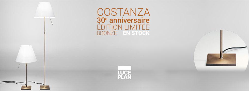Luce Plan Costanza édition limitée bronze 30 ans