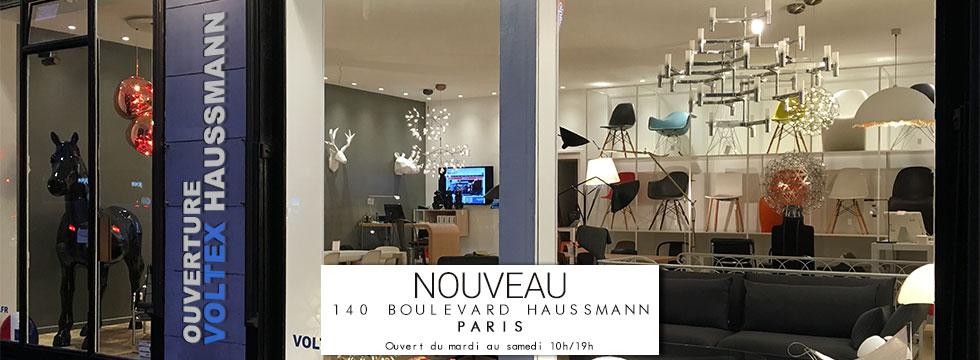Nouvelle boutique Voltex Paris Haussmann