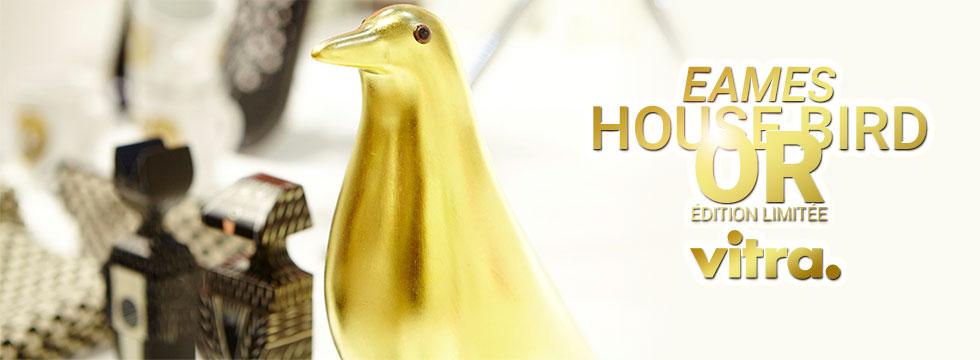 Vitra Eames House Bird Or édition limitée