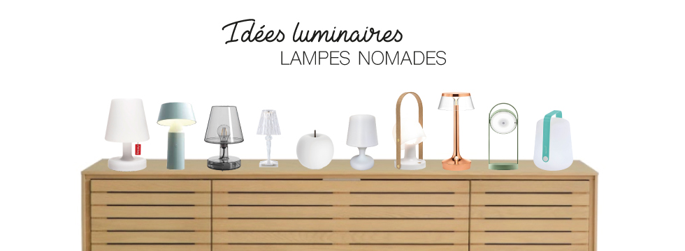 Lampes nomades