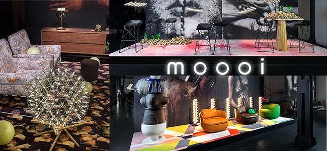 Nouveautés mobilier et luminaires design Moooi