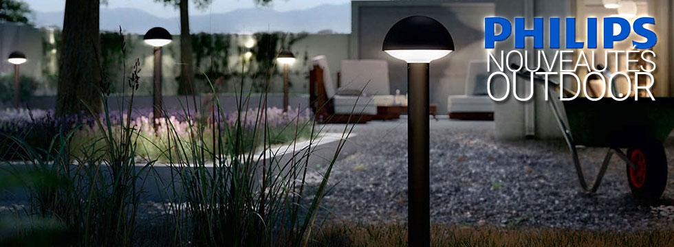 Nouveautés luminaires Outdoor Philips