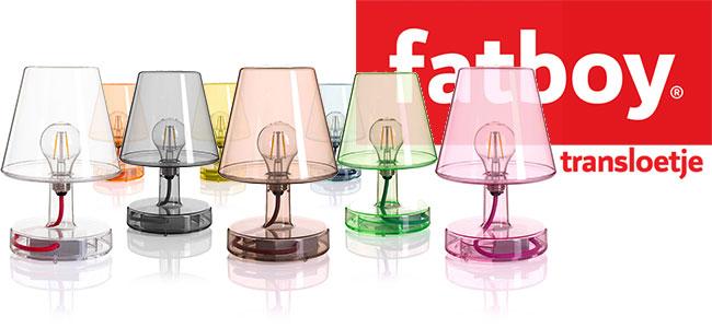 Lampe à poser Fatboy Transloetje