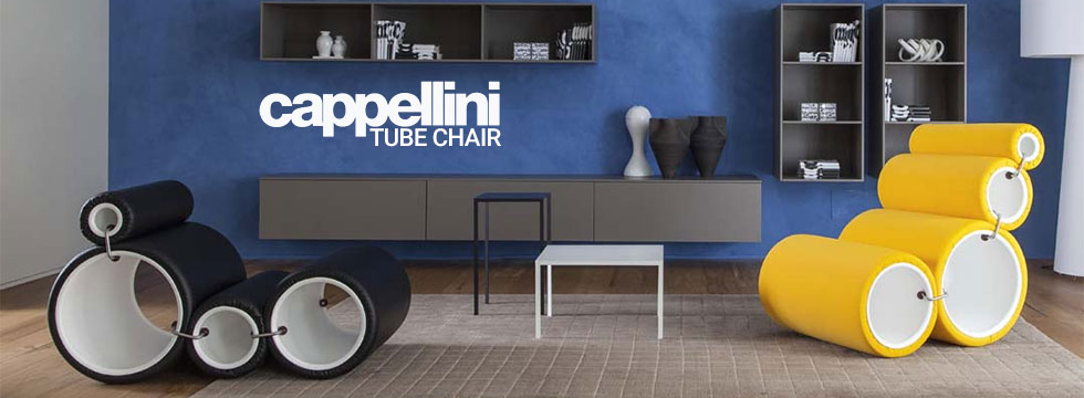 Siège modulable Tube Chair de Cappellini