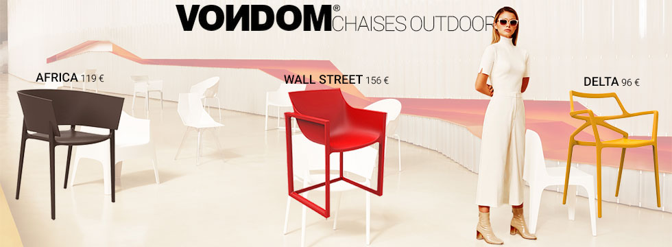 Chaises outdoor Vondom