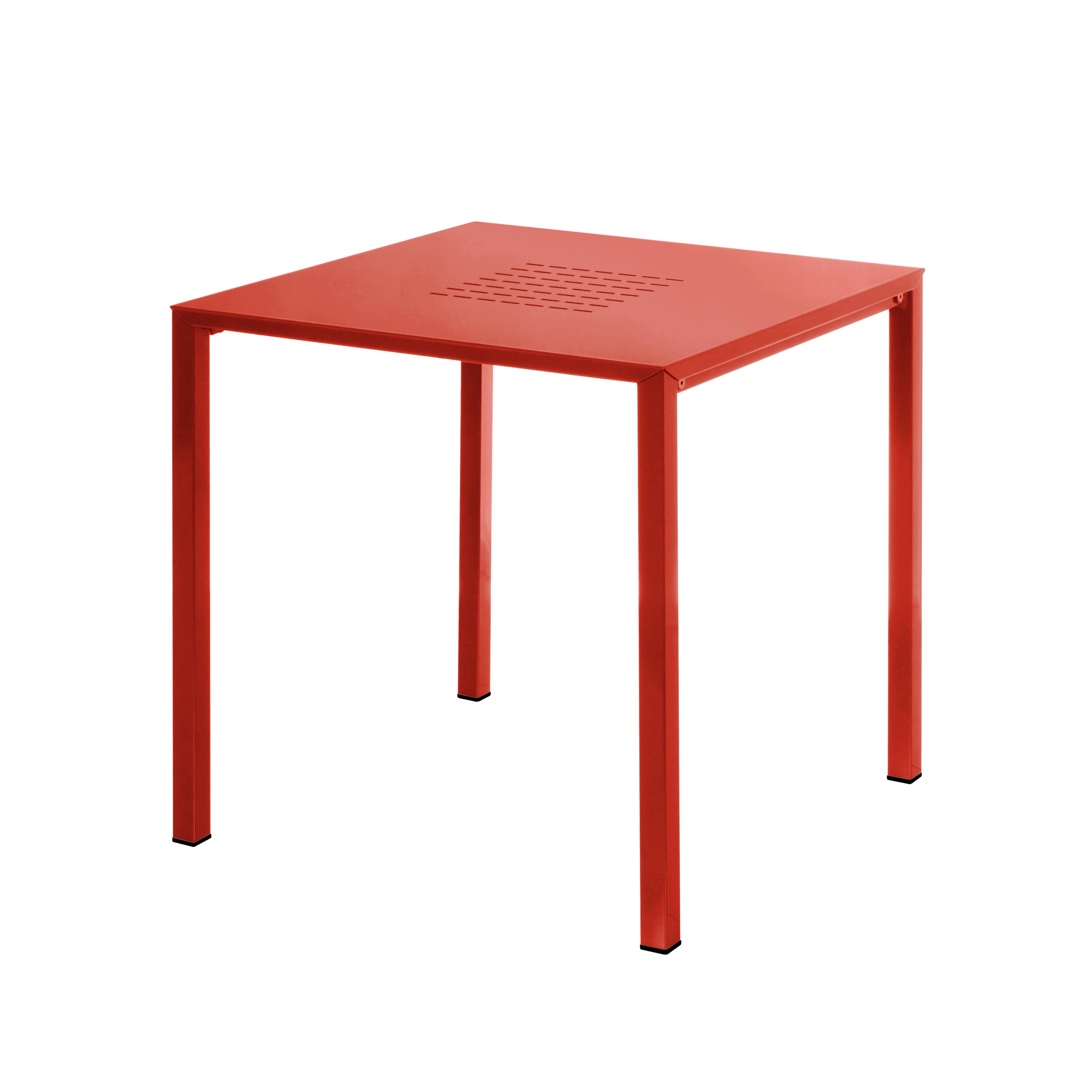 Table exterieur voltex arc en ciel table basse emu for Table exterieur design