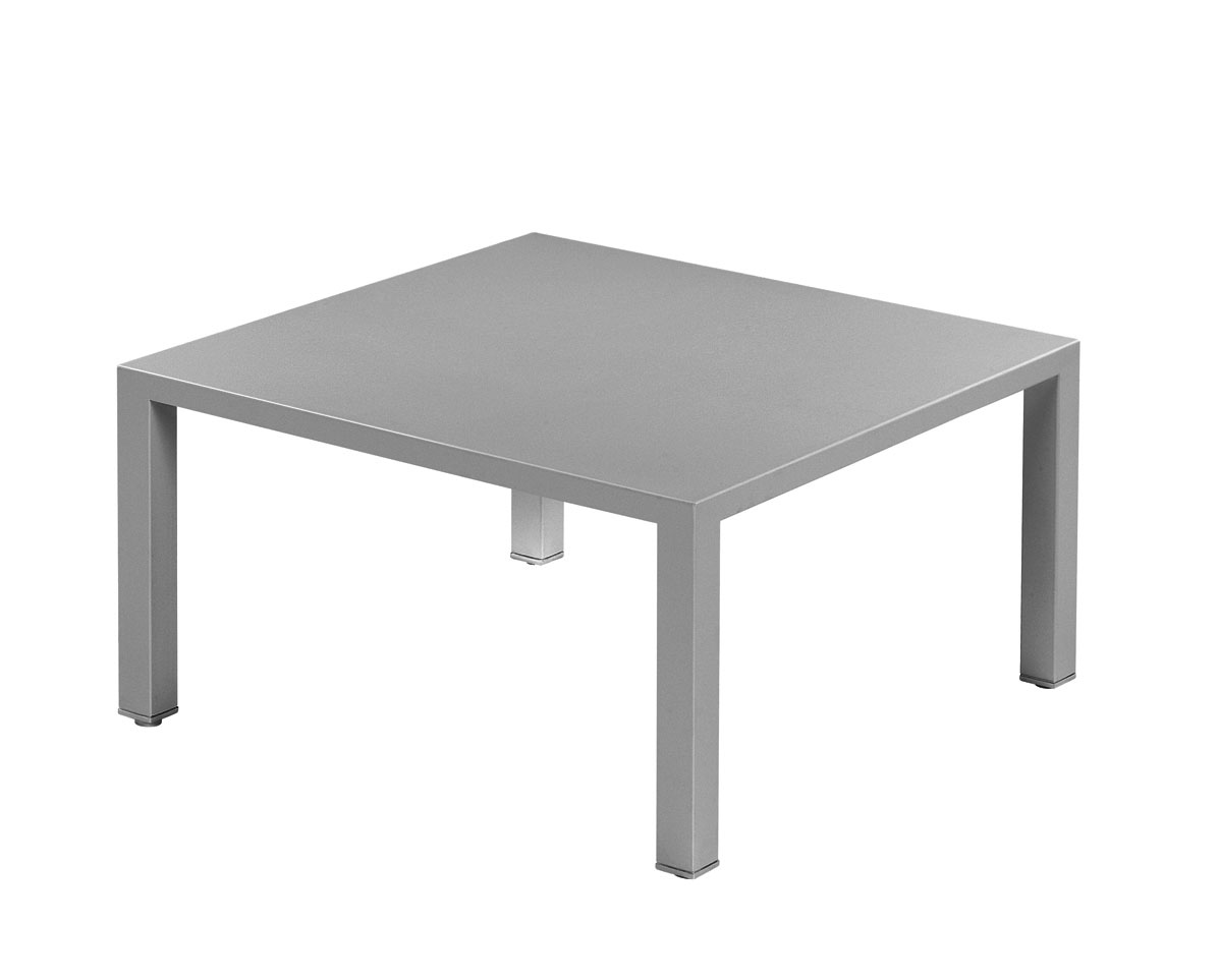 Ext rieur table basse for Table exterieur galvanise