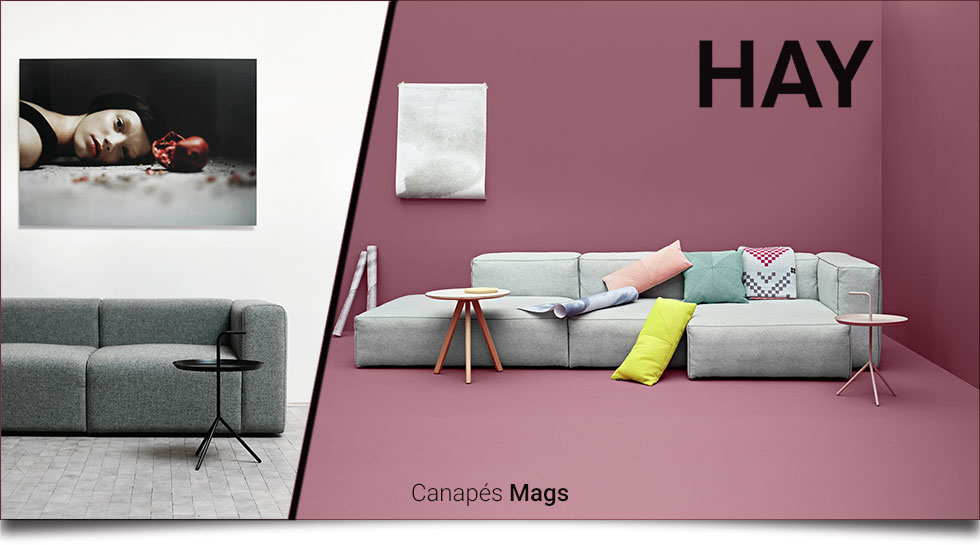canap s mags hay. Black Bedroom Furniture Sets. Home Design Ideas